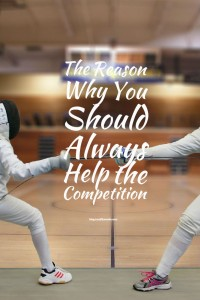 Want to be a success? Help the competition