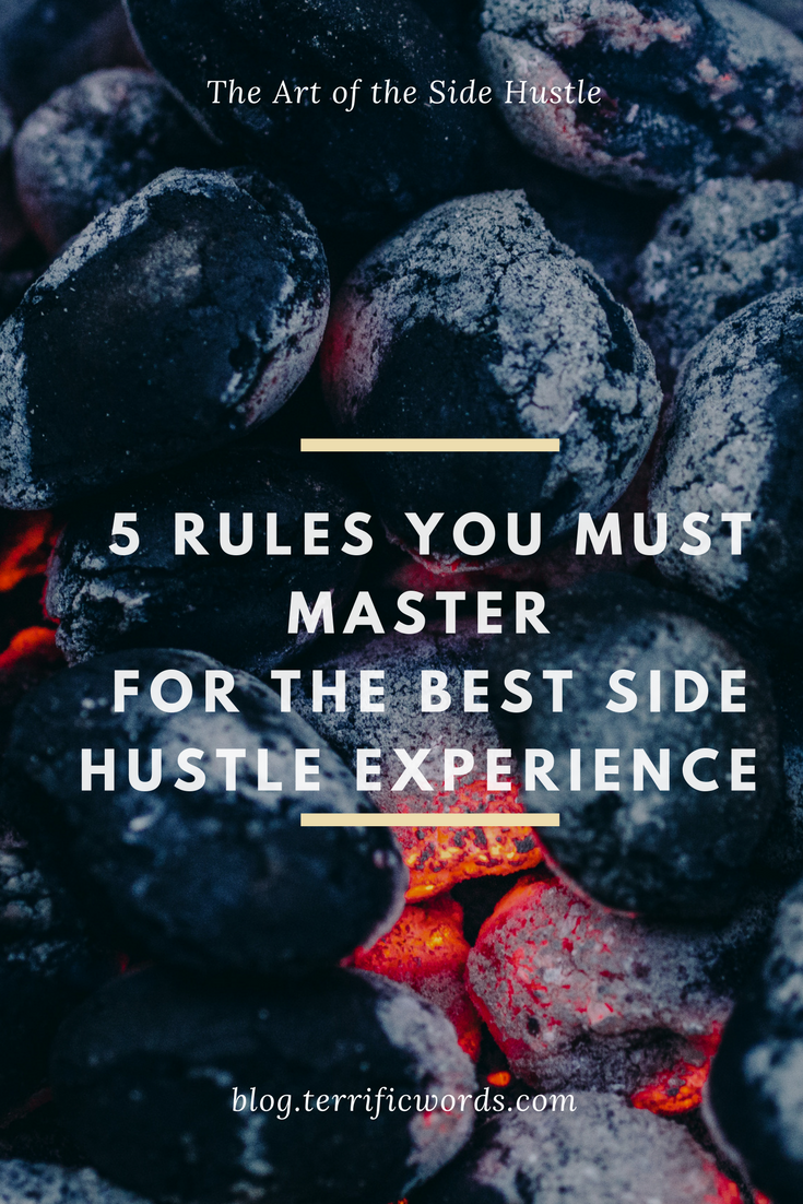 Thinking of starting a side hustle? Follow these rules before you're in too deep.