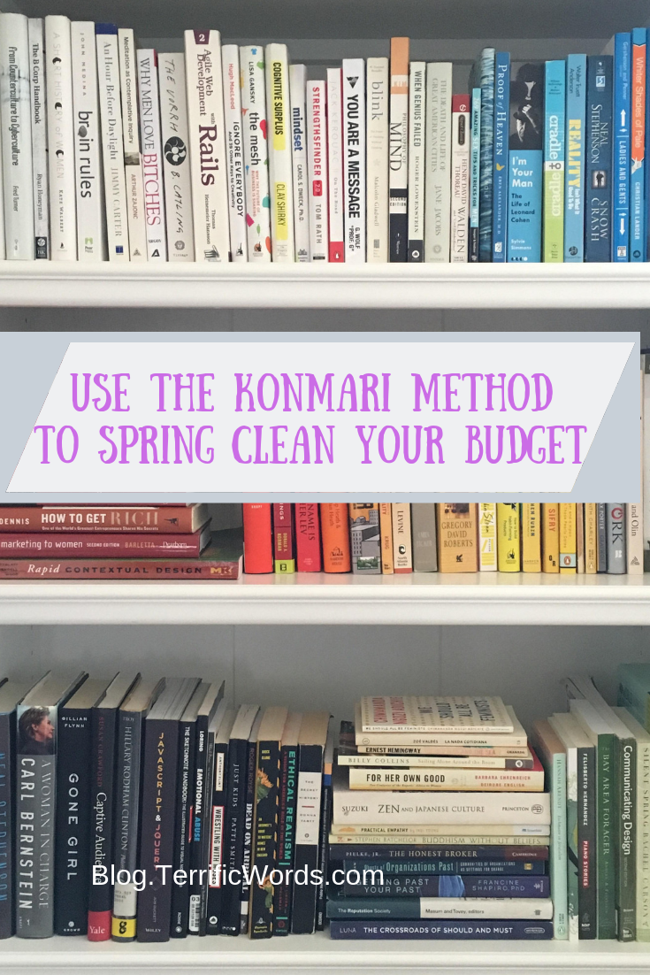 The Fool Proof Way to Spring Clean Your Finances the Marie Kondo Way
