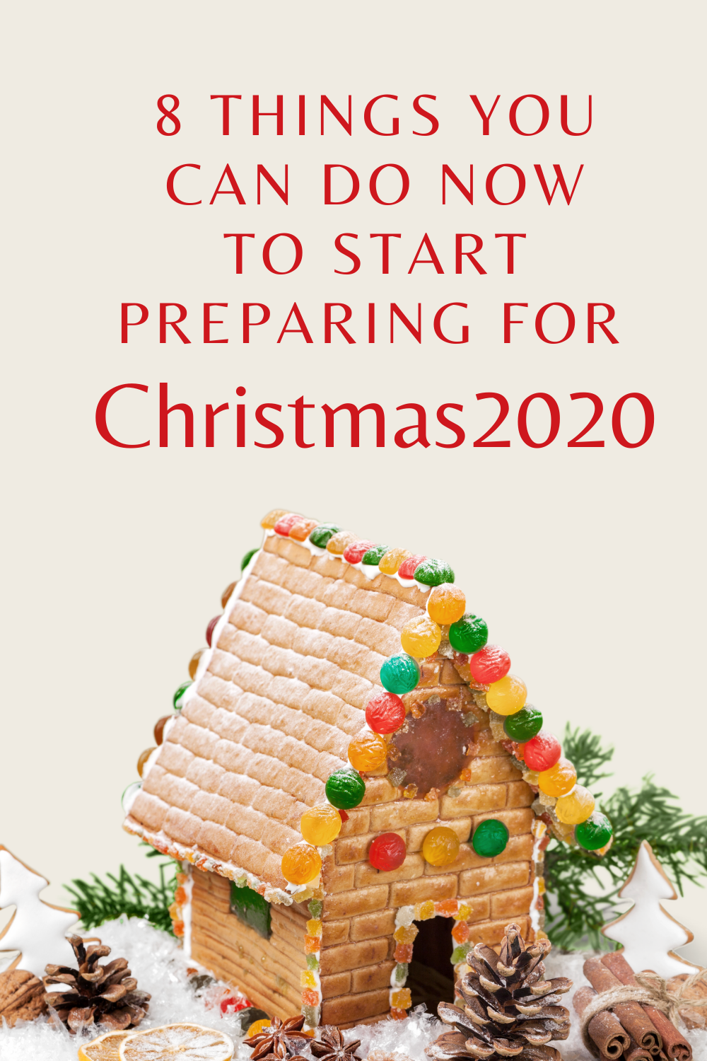 8 things you can do now to get ready for Christmas 2020 #terrificwords