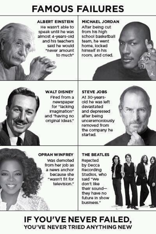 Failure Never Looked So Good…