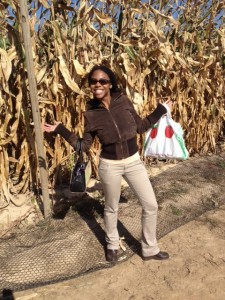 I successfully completed the corn maze!